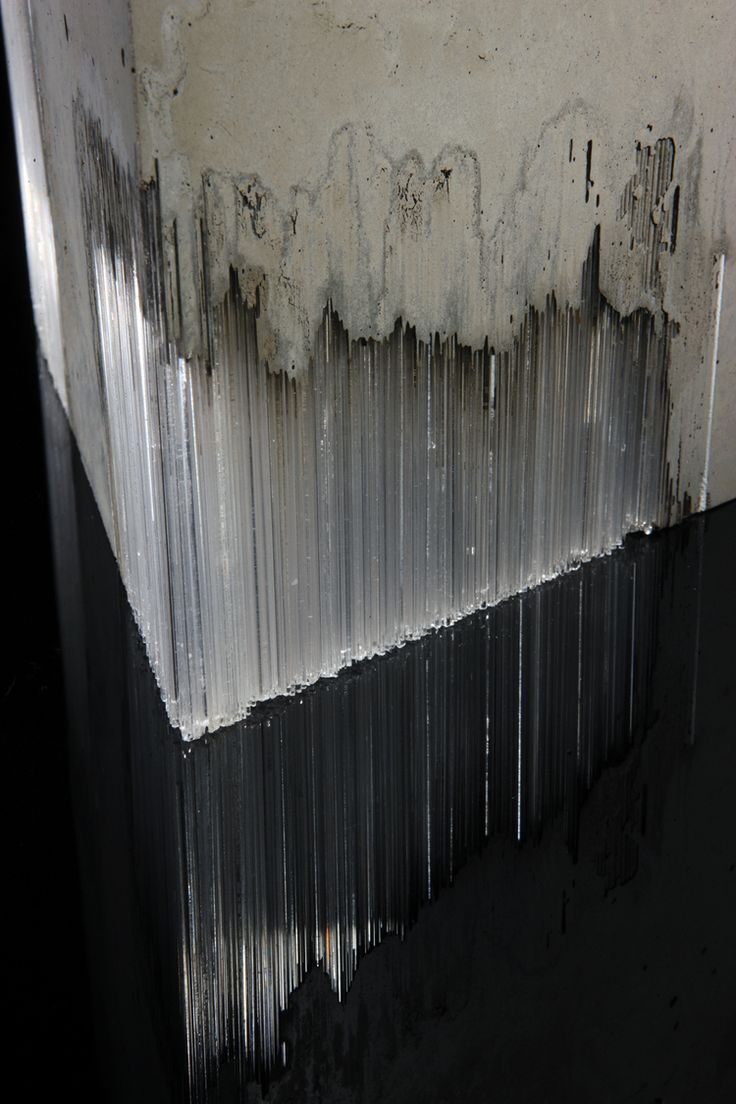 Harry Morgan | Entropy Study 1 (detail), 2014 | Concrete + glass | © Simon Bruntnell