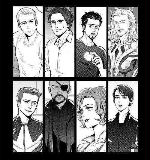 Anime Avengers
