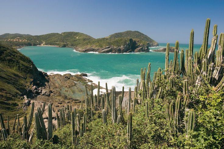 This gorgeous peninsula beach resort Buzios was made popular in the 1960s by Brigitte Bardot. #Brazil #SouthAmerica #CelebrityCruises