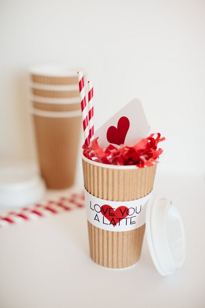 Free Printable Love You a Latte :: Valentine's Day Gift Idea #valentinesday #freeprintable