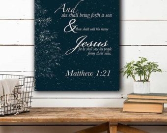 Bible Verse Canvas/ Isaiah 41:10/ 11x14 by PennellPieces on Etsy