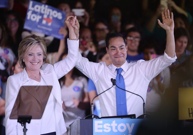 Former Mayor of San Antonio and current Secretary of Housing and Urban Development Julian Castro is reportedly on the short-list for Clinton's choice as Vice-President, should she get the Democratic nomination.