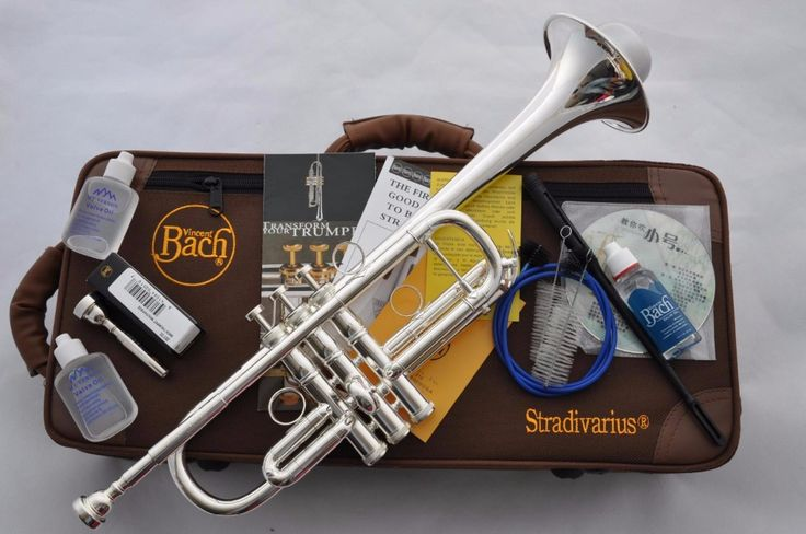 trumpet Hot selling Silver Baja trumpet Drop Bb tone LT197GS-96 professional performance level Musical Instruments Free shipping