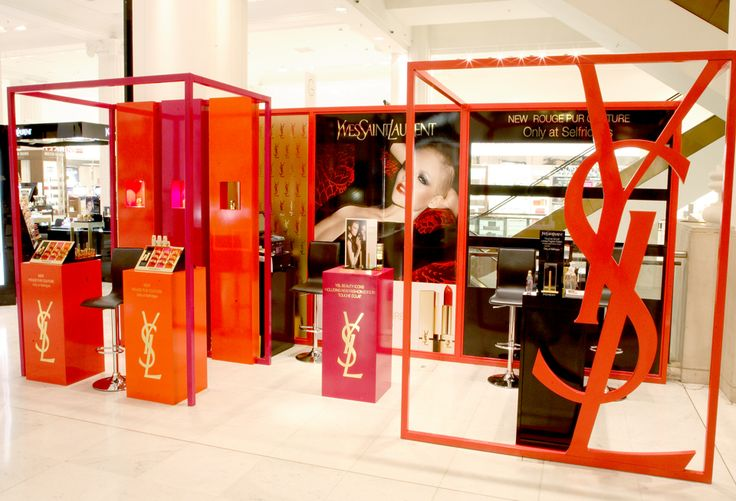 """YSL """"Rouge Pur Couture"""" pop-up site by #elementaldesign"""