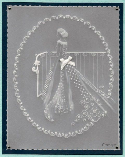 By Carolyn C.  White work, within a PCA template border.