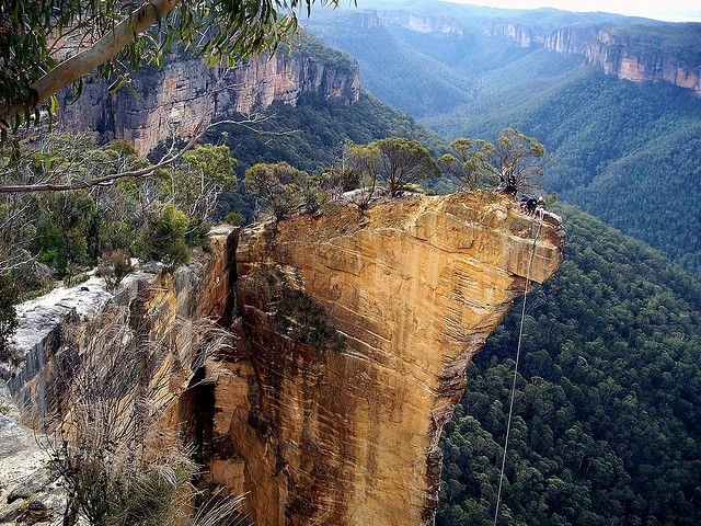 Blue Mountains Australia. Don't want to get lost here. Beautiful but inhospitable.