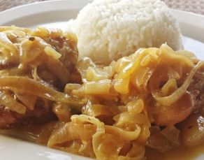 Poulet Yassa very tasty first tried this from my ivory coast friend abs i tried cooking as well