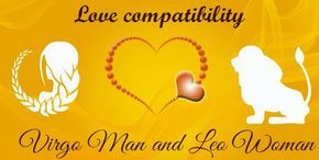 Virgo male and Leo female Love Compatibility.