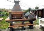 Show details for Outdoor BBQ and Pizza Oven AV240F
