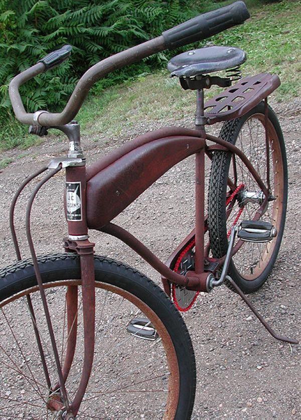 1950s JC Higgins Rat Rod Bike -- it's been around the block.