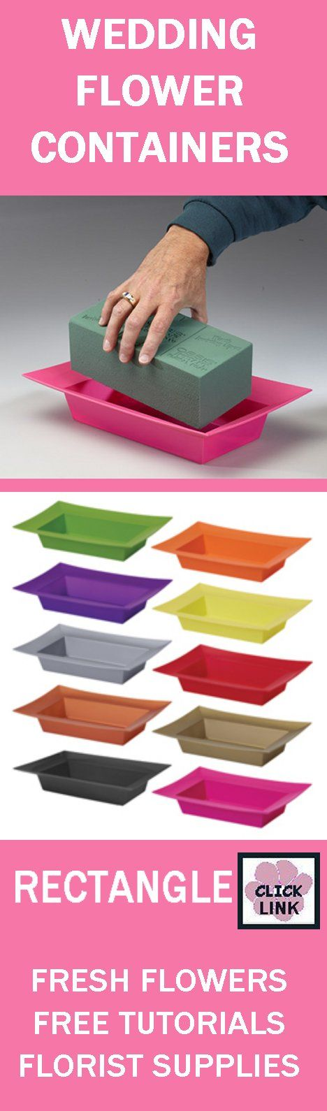 17 Best Images About Floral Supply Foam Containers On