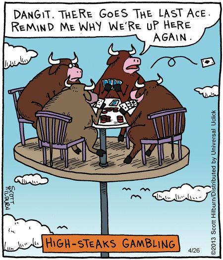 Gambling puns
