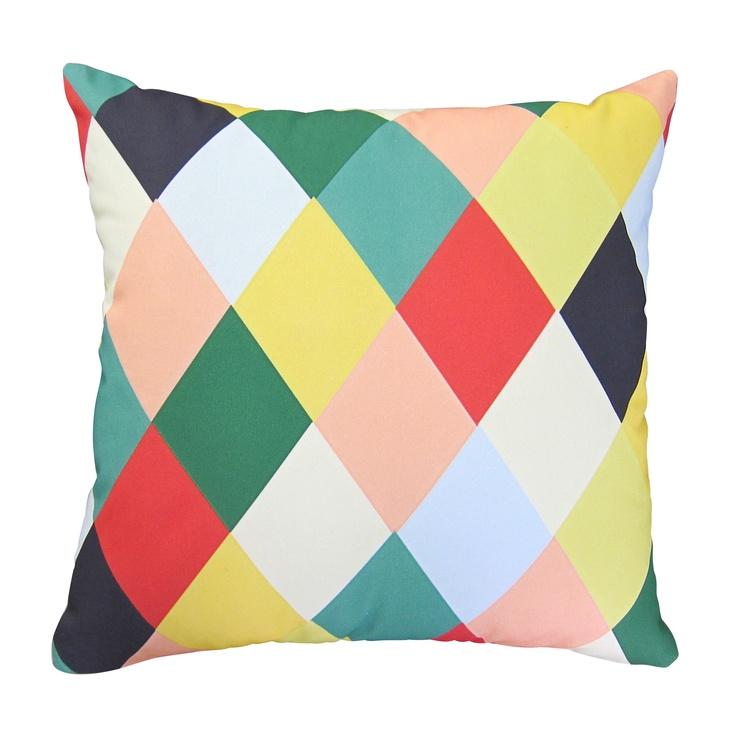 #Geometric #cushion, found on #hardtofind.
