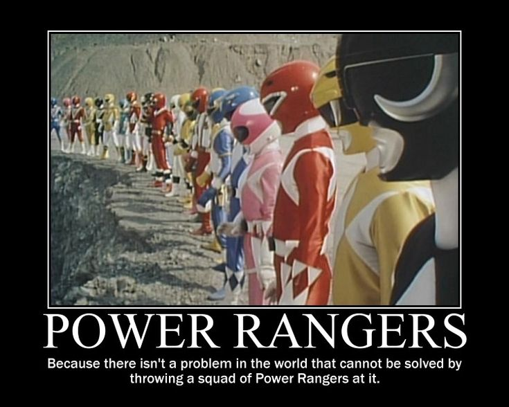 Lotta Power Rangers by ~maybetoby on deviantART