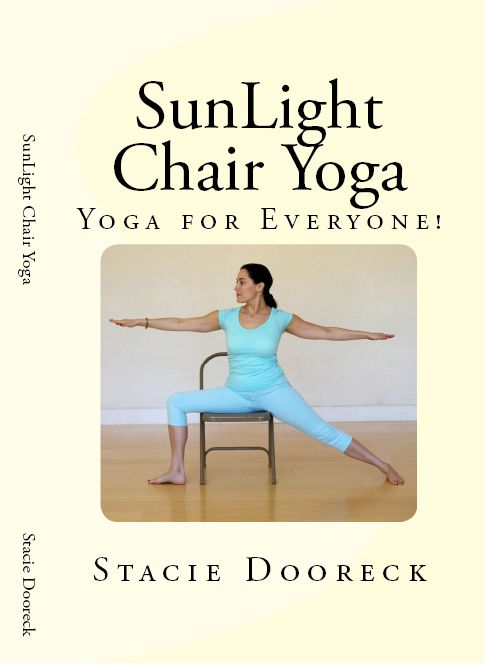 129 best images about chair yoga on pinterest yoga poses for Chair yoga seniors