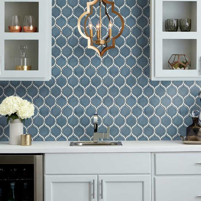Emser Divine Chronos Ceramic Mosaics Emser Kitchen Backsplash Trends Kitchen Backsplash Designs