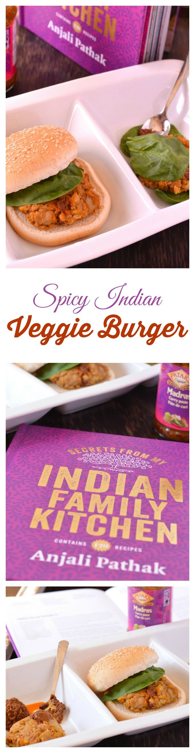 This spicy Indian vegetarian burger recipe is so delicious, even your ...