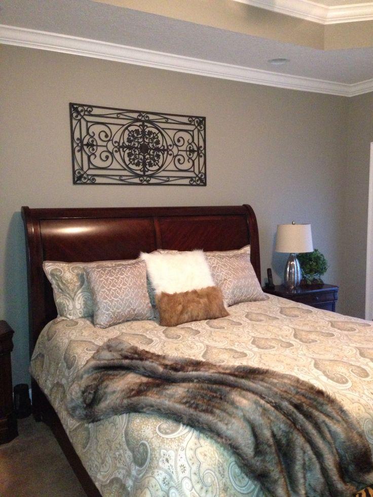 Master Bedroom Sherwin Williams Pavestone | B E D R O O M