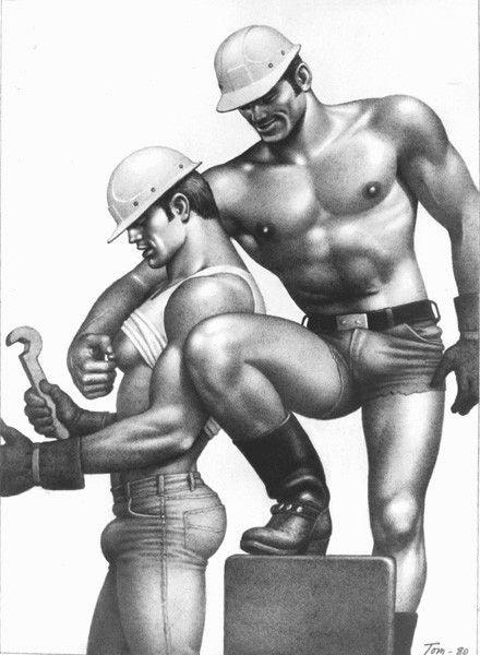 Iskuri homoseksuaaliseen intiimi hierontaa