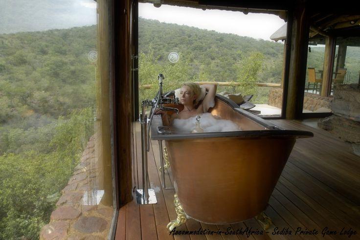 Luxury, romantic accommodation - Sediba Private Game Lodge.