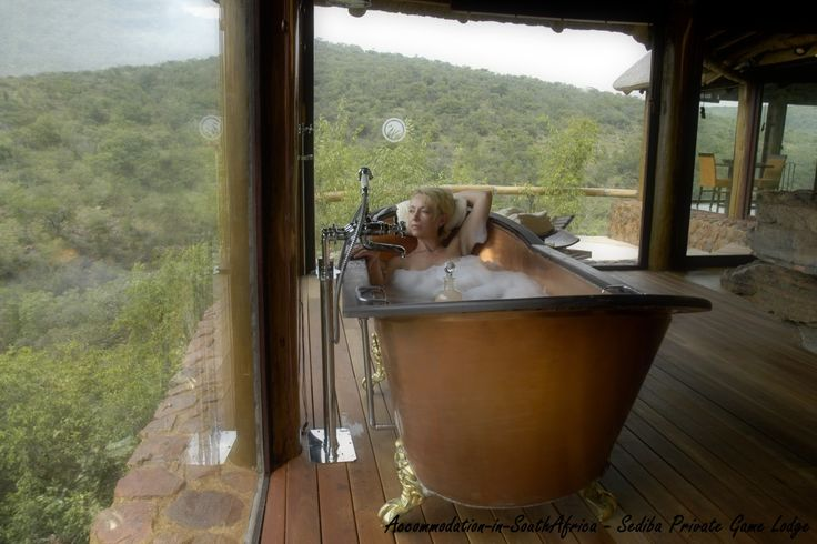 Luxury, romantic accommodation - Sediba Private Game Lodge.