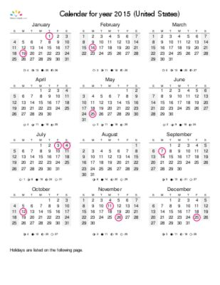 25+ unique Year calendar 2015 ideas on Pinterest Free calendar - yearly calendar