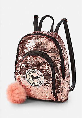 Unicorn Sequin Mini Backpack