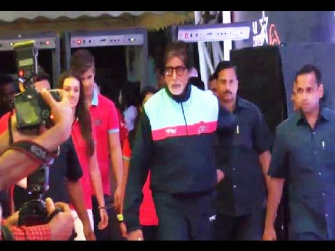 Amitabh Bachchan at the red carpet of Pro Kabaddi League.
