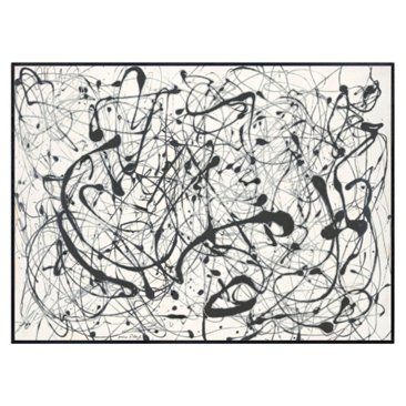 Check out this item at One Kings Lane! Jackson Pollock, Number 14: Gray