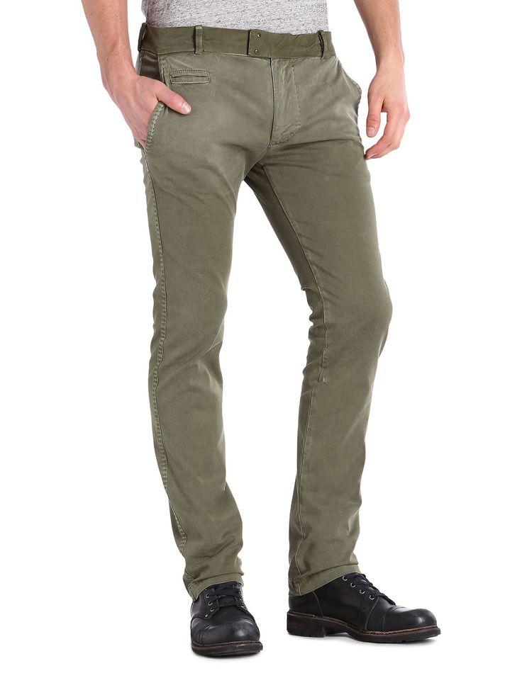 Diesel CHI TIGHT X Pants - Diesel Official Online Store