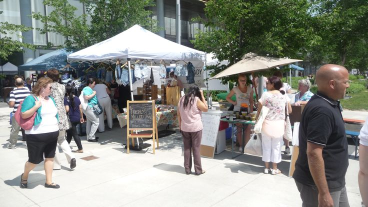Farmers Market downtown behind Hydro building Thurs in the sumemr