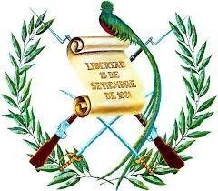 Resultado de imagen para mapa, escudo nacional y bandera de  Guatemala
