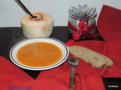 Moje Małe Czarowanie: Waniliowa zupa krem z dyni na ostro