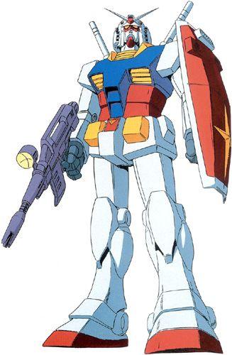 Absolute Anime • Mobile Suit Gundam • RX-78-2 Gundam