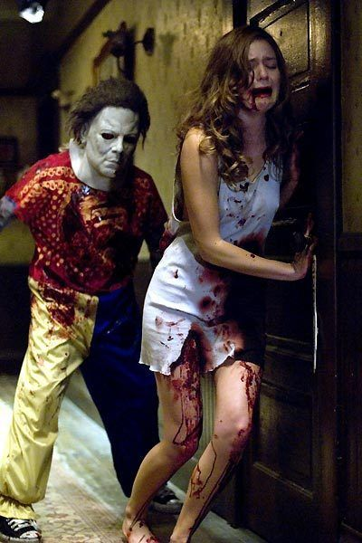 Rob Zombie's Halloween..... Children in masks freak me out!!!