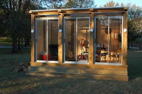 alternative to bifolds: Gardens Offices, Garden Sheds, Modern Gardens, Garden Design, Backyards Offices, Side Yards, Gardens Design, Gardens Sheds, Home Offices