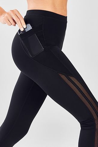 5e9af49831f26 High-Waisted Solid Spin Pant II in 2019 | Fitness Style | Pants ...