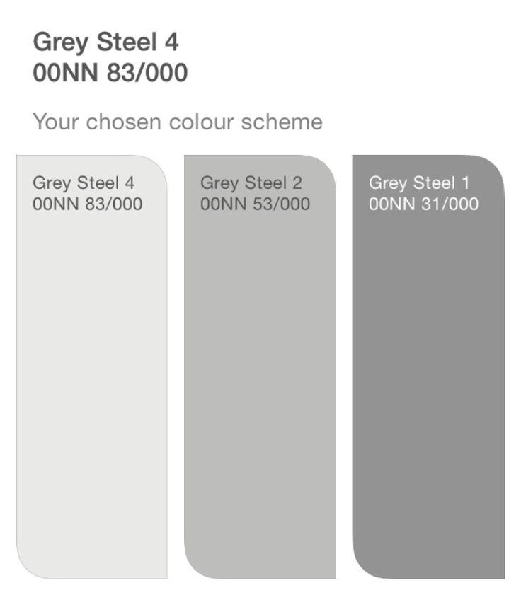 Dulux Grey Steel Hallway In 2019 Dulux Grey Paint
