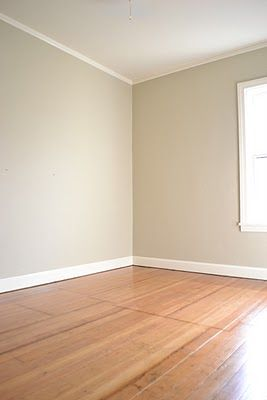BM Grant Beige  a home in the making: {renovate} back bedroom