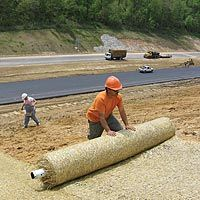 Coconut Erosion Control Blanket, 8ft x 113ft Roll