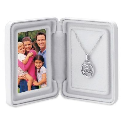 Family Medallion in Sterling Silver for Blended Families