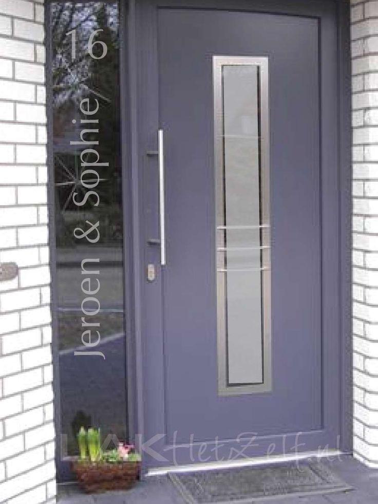 raamfolie, naam, voordeur, voorbeeld