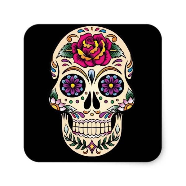 http://ift.tt/2eQa0Ny Shop https://goo.gl/y2vDBX   Day of the Dead Sugar Skull with Rose Sticker    Sugar skulls are very trendy!  A colorful day of the dead sugar skull with pretty flowery details.  Gothic spooky skeleton imagery.  Great urban art.  Customize by adding text and/or...  Go To Store  https://goo.gl/y2vDBX  #ColorfulSkull #DayOfTheDead #FlowerySkull #GothicSkull #MexicanSkull #Skeleton #SkullFace #SpookySkull #SugarSkull #VectorSkull http://ift.tt/2eQa0Ny