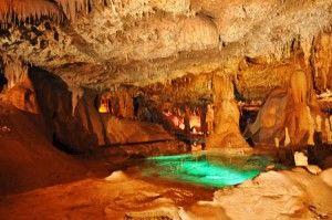 Inner Space Cavern Near Austin TX