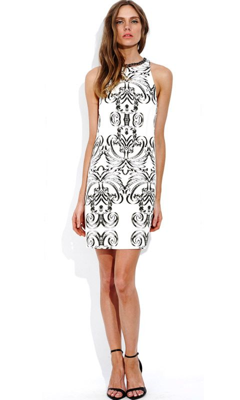 AlibiOnline - Rococo Shift Dress by WISH, $149.95 (http://www.alibionline.com.au/rococo-shift-dress-by-wish/)