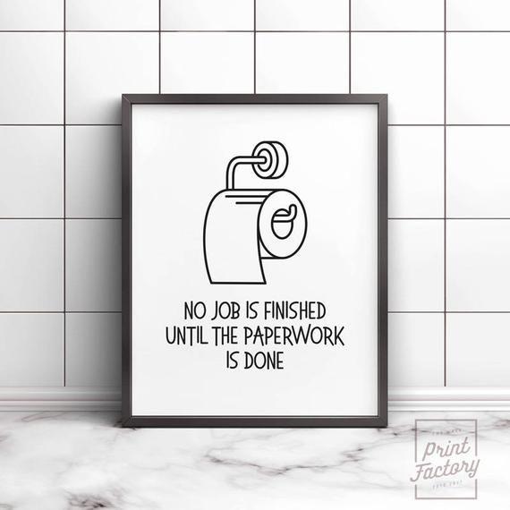 Bathroom Wall Decor Printable Art Bathroom Printable Kids Etsy In 2020 Funny Wall Art Funny Bathroom Art Bathroom Prints