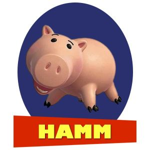 """Which """"Toy Story"""" Character Are You?  I'm Hamm!"""