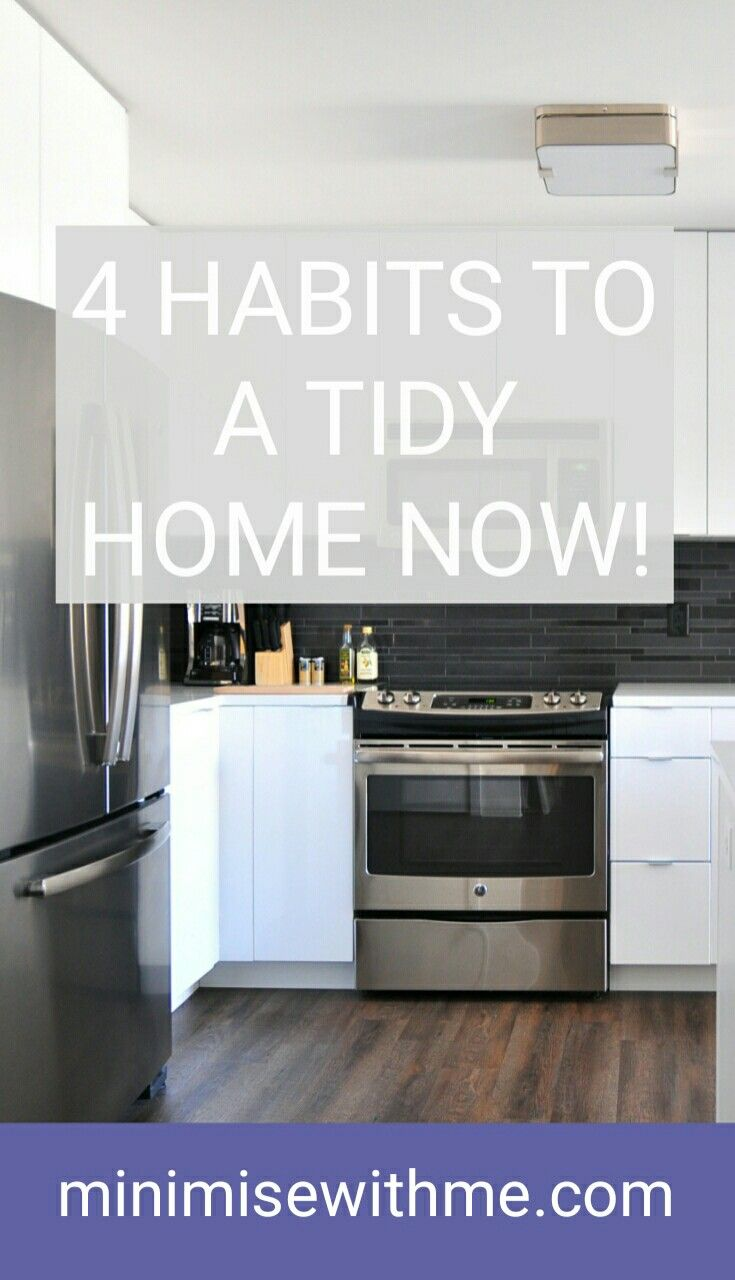 I used to struggle with keeping my home tidy day to day. Laundry was out of control, there were dishes everywhere and each day the stress just seemed to build up. I decided I needed to make a change. With these easy and quick tidying tips I've managed to keep my house cleaner with very little time actually spent cleaning. Read on for 4 Daily Habits to a Tidy Home Now.