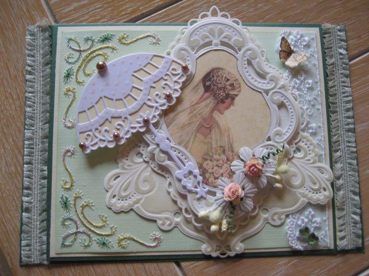 M.K - Bruid, uit Romantische kaarten