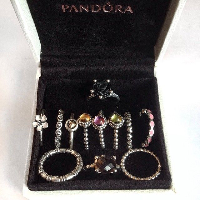 PANDORA Rings. Lovely Collection.